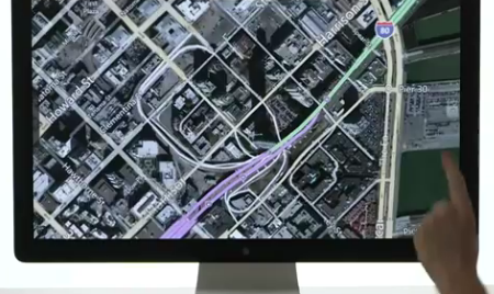 Media Screen and Map
