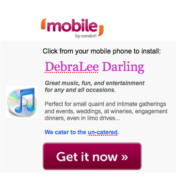 DebraLee Darling Mobile App