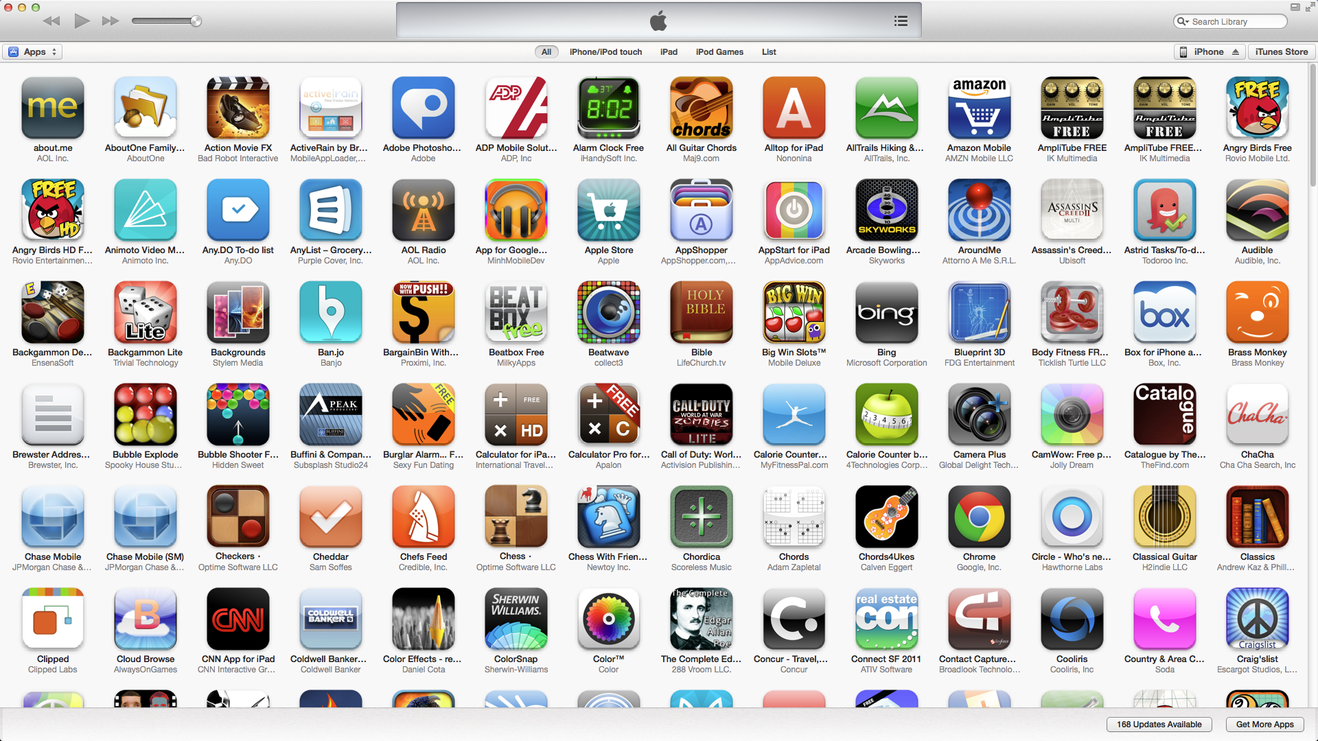 Top 100 IOS Apps for Agents