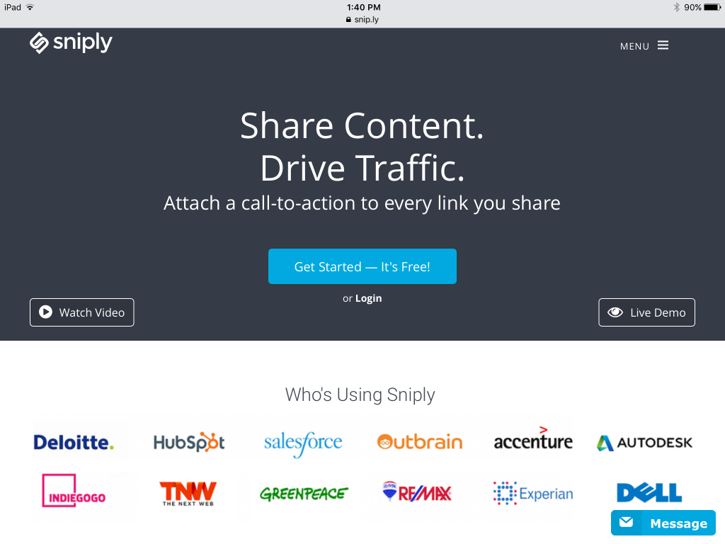 Share Content. Drive Traffic.