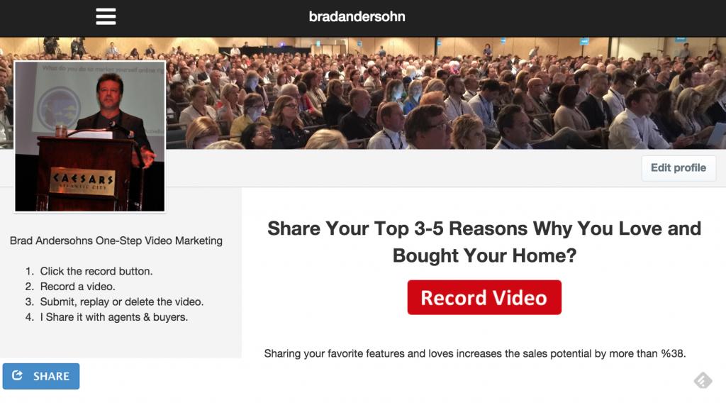 See Brad Andersohns Vidrack Example