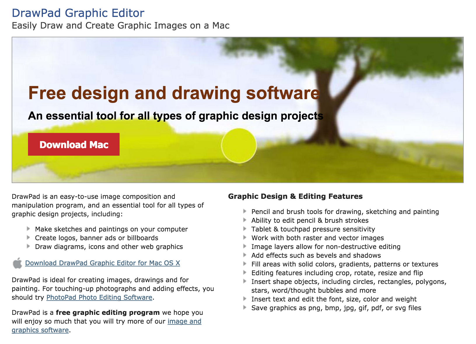 NCH Drawing Software